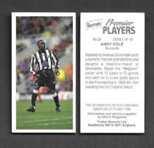 Newcastle United Andy Cole 20